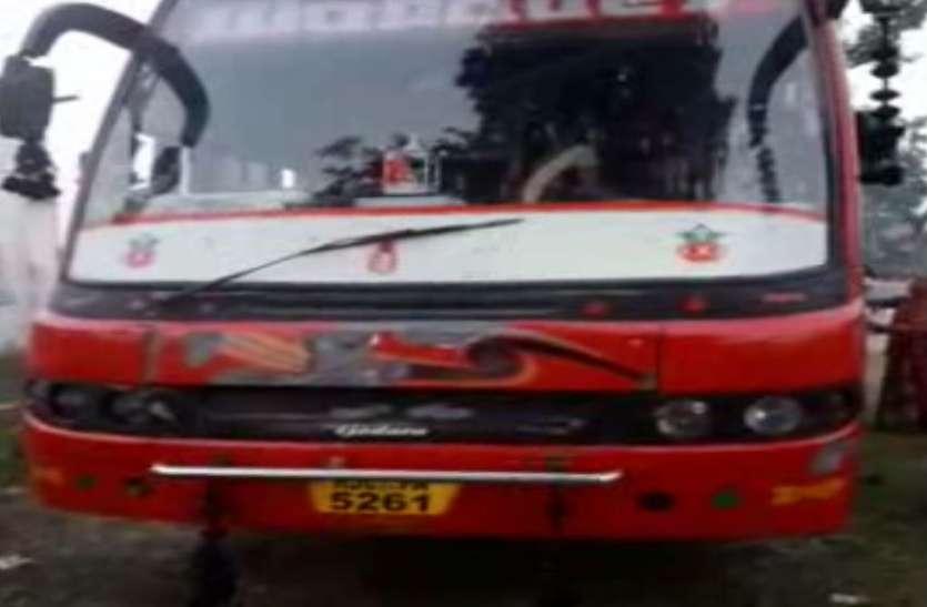 Big news:श्रद्धालुओं से भरी बस में दौड़ा करंट, कूद कर बचाई जान , 9 घायल