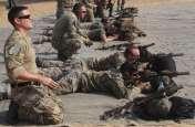 महाजन फायरिंग रेंज में अमरीकी सैनिकों ने अपने हथियारों को परखा