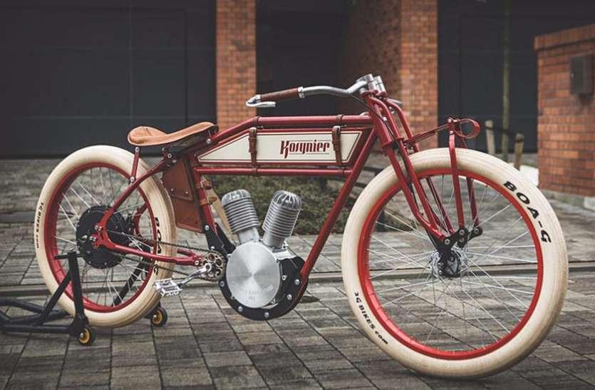 100 साल पुरानी यादें ताजा कर रही है ये रेट्रो बाइक, एक बार चार्ज होकर चलती है 70 किमी
