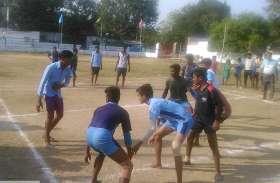 संभाग स्तरीय कबड्डी प्रतियोगिता में खिलाडियों ने किया उत्कृष्ट प्रदर्शन, सांस्कृतिक कार्यक्रमों का हुआ आयोजन