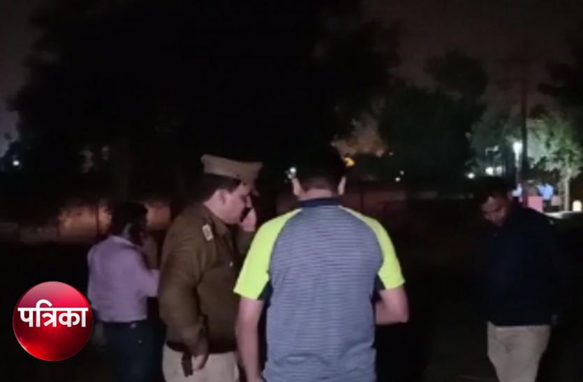 VIDEO: पुलिस और बदमाशों के बीच फिर हुई मुठभेड़, जमकर हुई 'ठांय-ठांय'