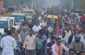 पीएम नरेन्द्र मोदी की सभा ,गलियों में भटकते रहे भाजपा नेता