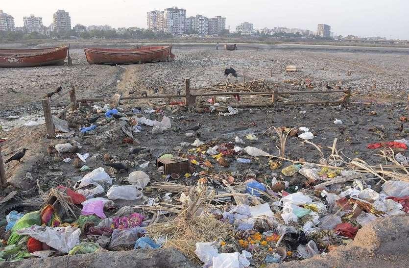 तमाम संसाधनों के बाद भी आधा कचरा नहीं उठता
