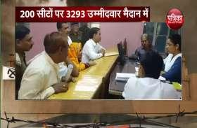 राजस्थान के चुनावी रण में इस बार 8 फीसदी ज्यादा उम्मीदवार