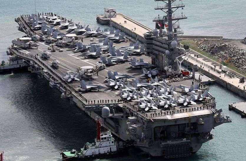 दक्षिण चीन सागर में खत्म होगा चीन का वर्चस्व? हांगकांग पहुंचा अमरीकी युद्धपोत रोनाल्ड रीगन