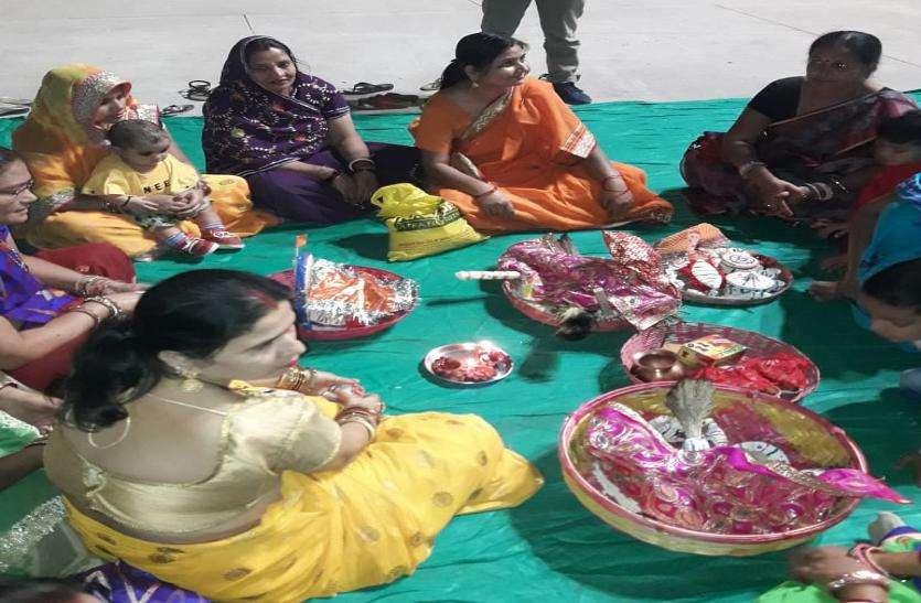 मिथिलावासियों ने मनाया सामा-चकेवा उत्सव