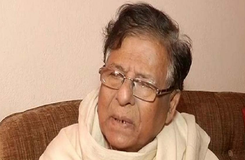 ओडिशा के पूर्व राज्यसभा सांसद वैष्णव चरण पारिदा का निधन, हॉस्पिटल में ली आखिरी सांस