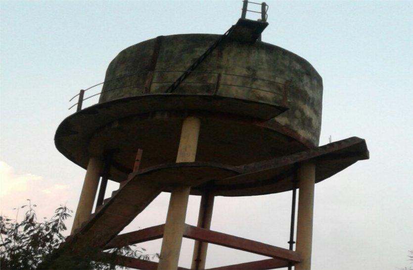 वर्षों बाद भी ग्रामों में पानी की समस्या नहीं हो पाई हल