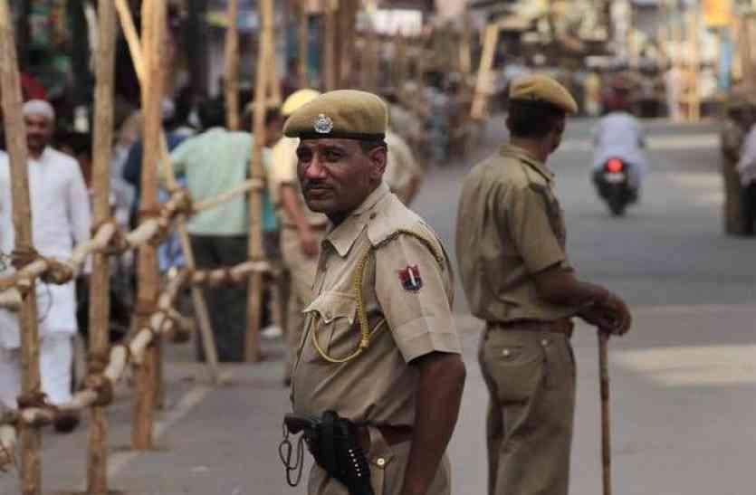 rajasthan ka ran 2018: चप्पे-चप्पे पर पुलिस की पैनी नजर, जुटे हैं मतगणना की तैयारी में