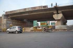 Photo Gallery: चुनावी माहौल में भाठागांव ओवरब्रिज निर्माण सुस्त, वाहनों की रफ्तार पड़ी धीमी