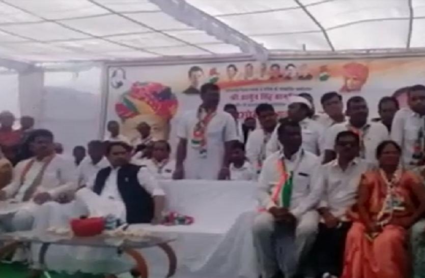कांग्रेस महासचिव अशोक गहलोत का शाह-राजे पर वार
