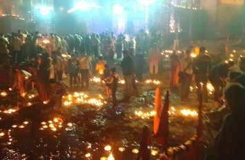 राम मंदिर का निर्माण शुरू, देव दीपावली पर यमुना महारानी के दीपदान पर की गई घोषणा, देखें वीडियो