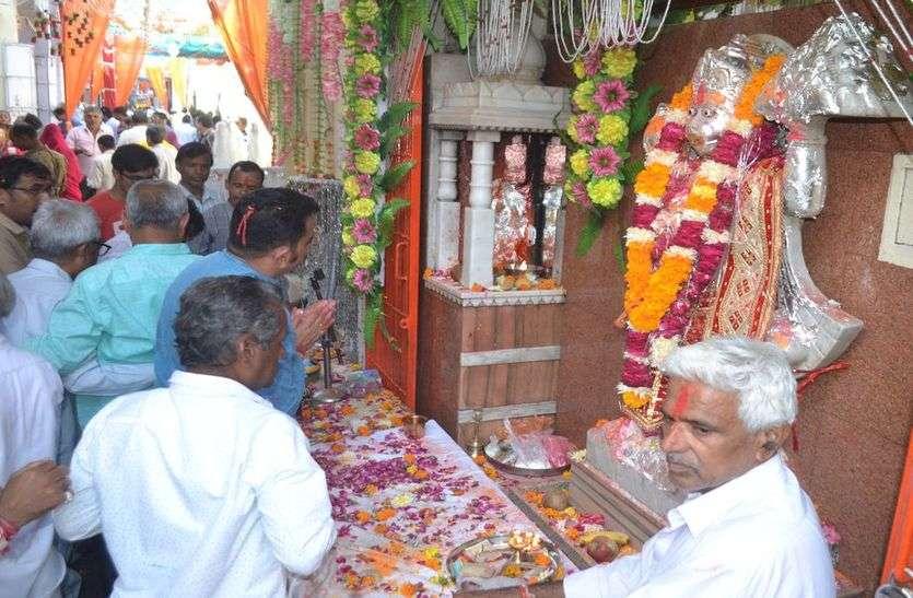 हर्षोल्लास से मनाया जागृत बालाजी मंदिर का वार्षिकोत्सव