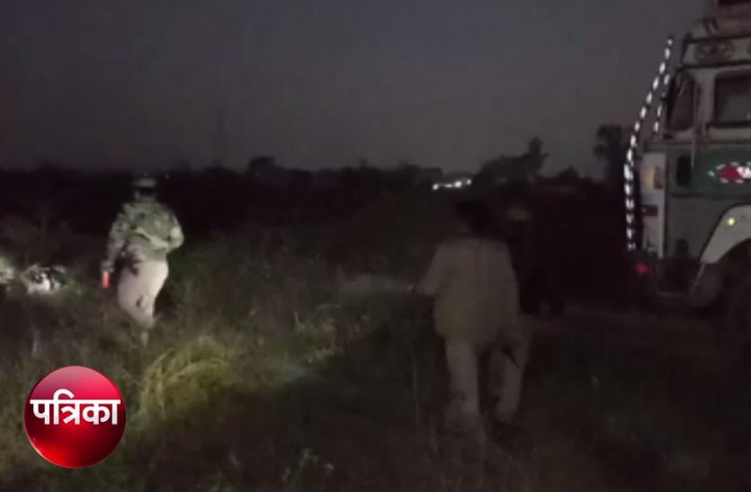 VIDEO: बदमाश कैंटर लेकर हो रहे थे फरार तभी पहुंच गई पुलिस, फिर जो हुआ...