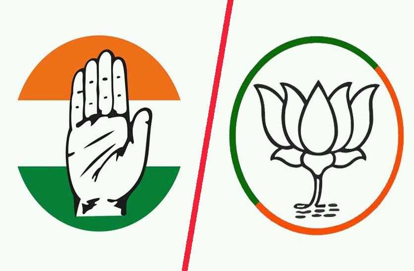 पिछली बार 80 फीसदी मतदान वाली सीटों पर आगे थी कांग्रेस