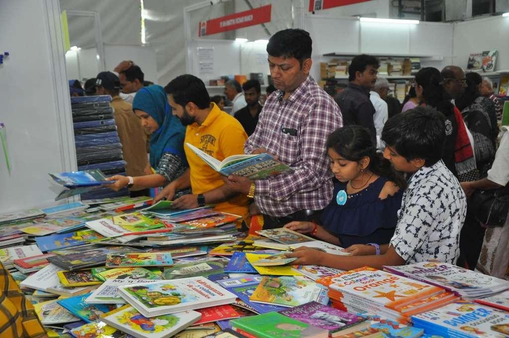 National book fair in Ahmedabad