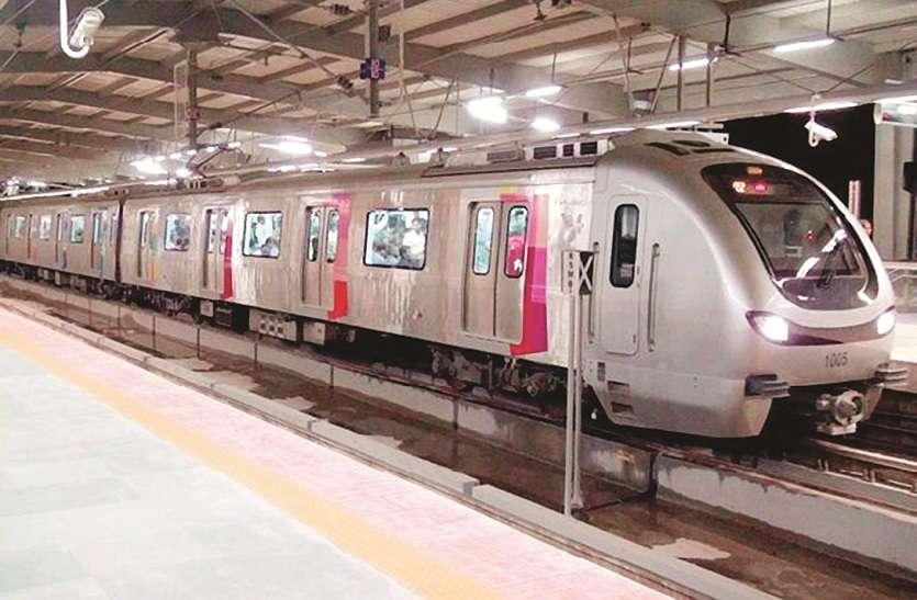 मेट्रो परियोजना : 80 किलोमीटर प्रति घंटा होगी स्पीड