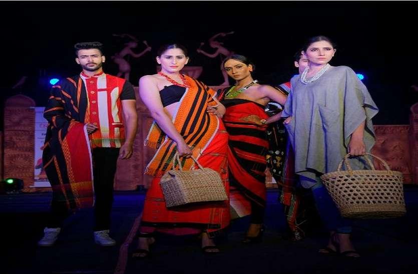 आदी महोत्सव के 'पंचतंत्र' फैशन शो में दिखाया जलवा