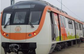 नागपुर मेट्रो की अपनी पहली दो मेट्रो ट्रेन चाइना के सीआरआरसी से रवाना