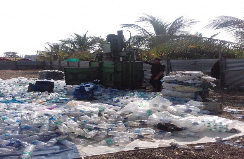 इज्तिमागाह से निकली प्लास्टिक से इंदौर में बनेंगे फर्नीचर, गार्डन रैलिंग
