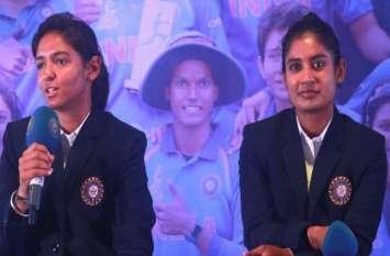 महिला T20 वर्ल्ड कप सिलेक्शन विवाद: BCCI के शीर्ष अधिकारीयों से मिलीं मिताली और हरमनप्रीत