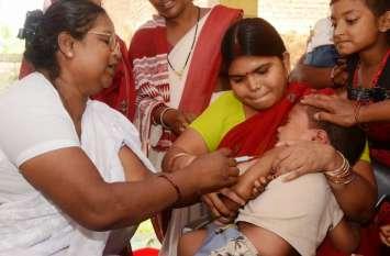 टीका लगने के बाद बिगड़ी 19 बच्चों की हालत, स्वास्थ्य विभाग में मचा हड़कंप