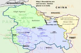 कश्मीर पर चीन के रुख में परिवर्तन? सरकारी चैनल ने पीओके को दिखाया भारत का हिस्सा