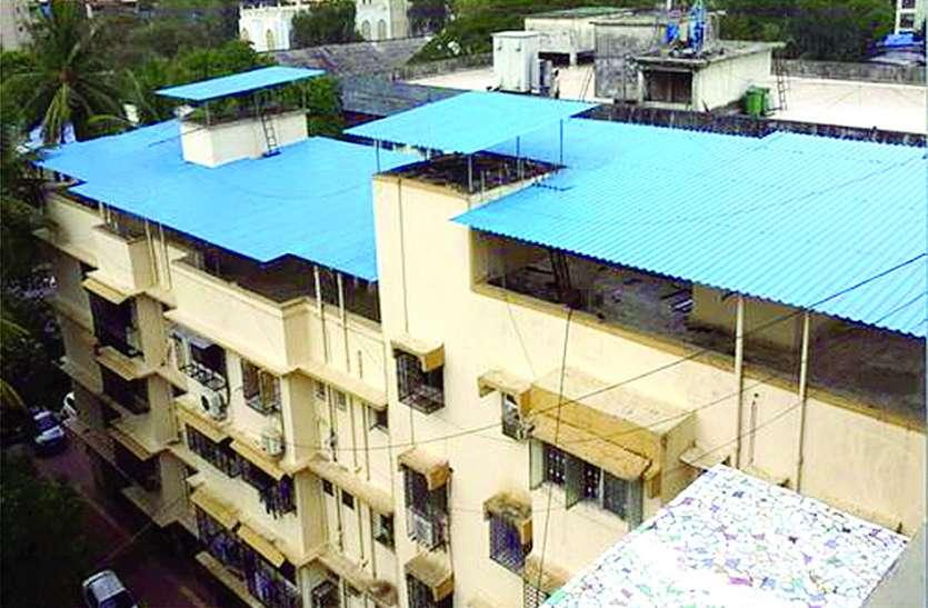 बिना मंजूरी छत पर शेड लगाने पर टीएमसी वसूलेगी पांच हजार जुर्माना