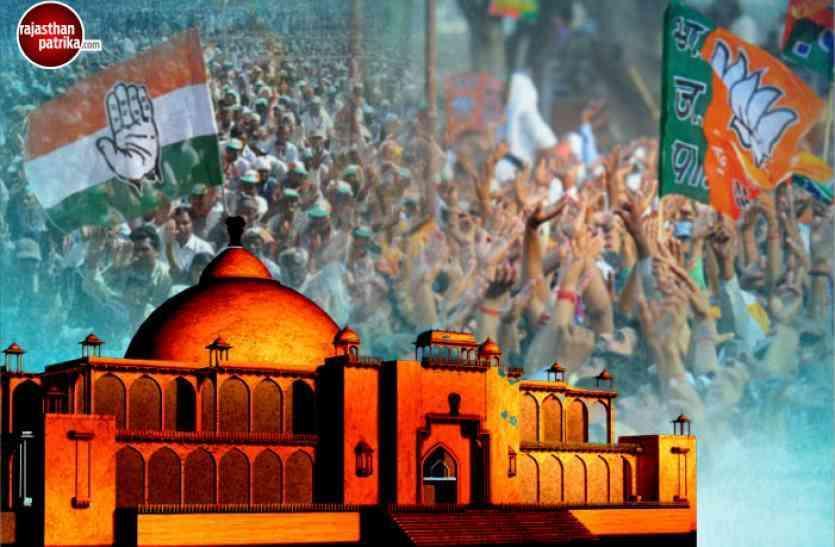 उदयपुर जिले की 8 विधानसभा सीटों पर भाजपा-कांग्रेस के प्रत्याशियों की उम्र का गणित ....