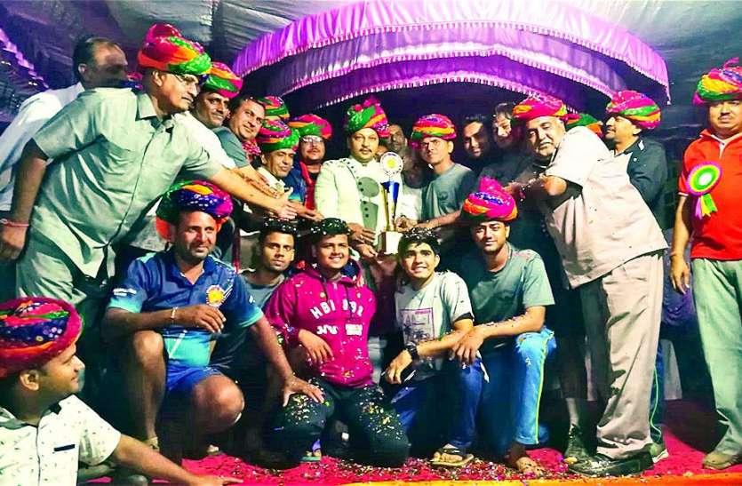 मुम्बई की जेडीएस खारगर चैम्पियन