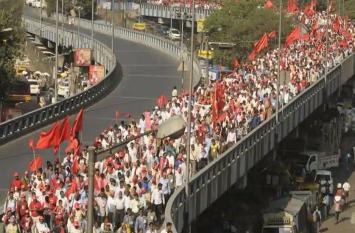 VIDEO: दिल्ली में संसद भवन का घेराव करेंगे हजारों किसान