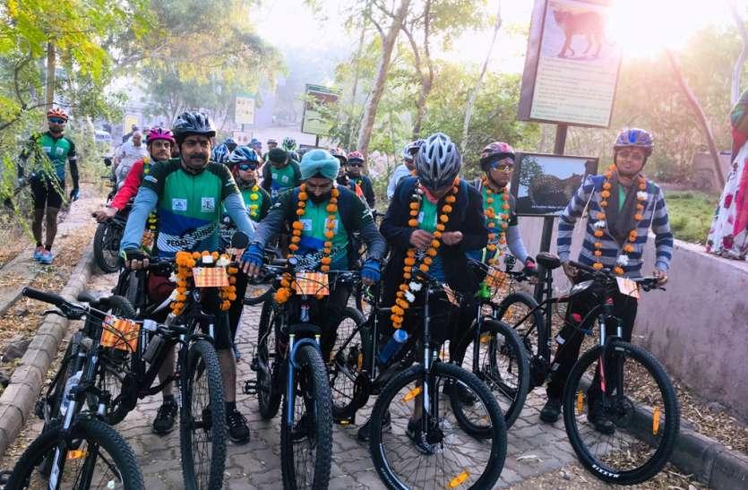 Pedal To Jungle : देशभर के 33 साइकलिस्ट पहुंचे उदयपुर,  3 दिन तक जंगलों में साइकलिंग का लेंगे मजा, VIDEO