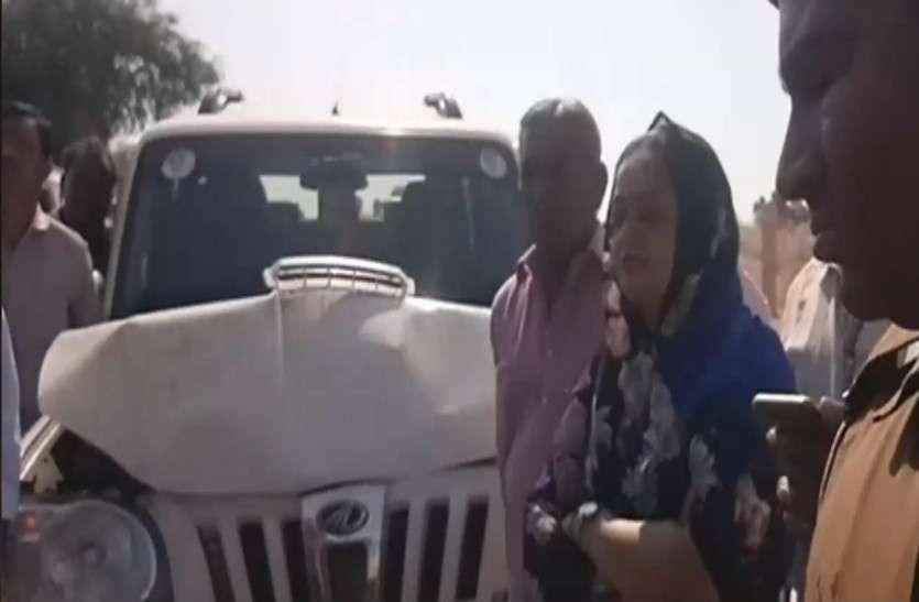 राजस्थान विधानसभा चुनाव में दबंगई.... उम्मीदवारों-समर्थकों के वाहनों पर हमला... देखें वीडियो