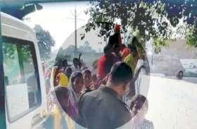 मंदिर की दीवार तोड़े जाने पर बवाल, भीड़ ने SDM को घेरा, ग्रामीणों ने किया पथराव, कई महिलाएं घायल