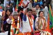 भाजपा पूर्व -पश्चिम प्रत्याशियों के समर्थन में वाहन रैली, डॉ. गोपाल जोशी व सिध्दी कुमारी का जनता ने किया स्वागत