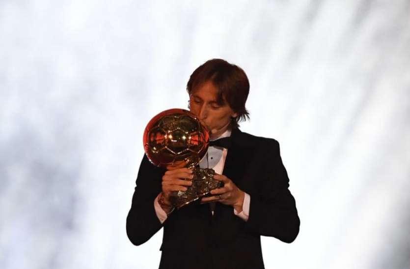 मेसी-रोनाल्डो की बादशाहत खत्म कर वर्ल्ड कप हीरो लुका मोड्रिक ने जीता Ballon d'Or