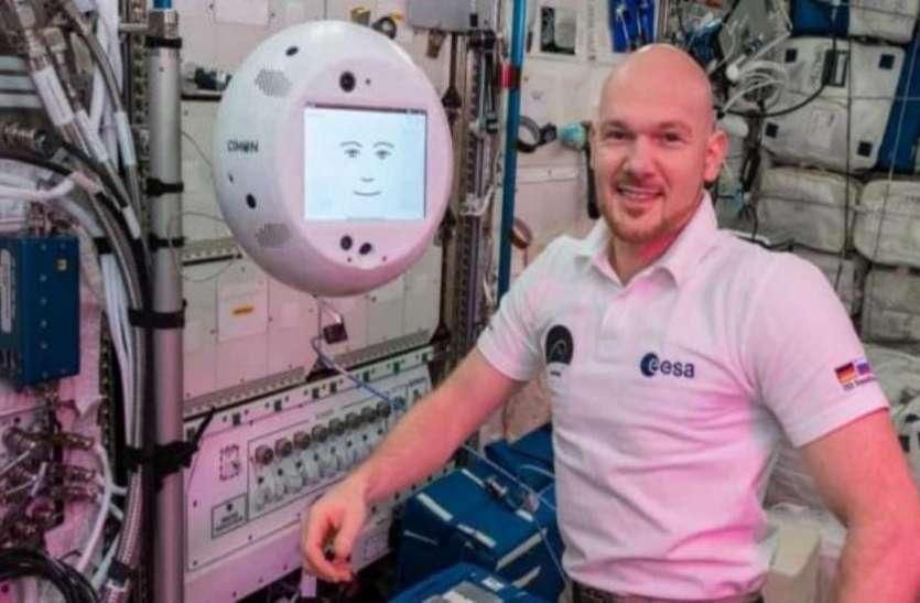 रोबोट के नखरे देखकर हैरान रह गए अंतरिक्ष यात्री, मनपसंद गाना बंद करने पर सुनाई खरी-खरी