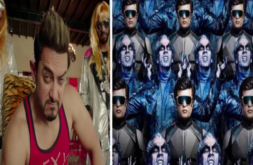 चीन में आमिर खान का रिकॉर्ड तोड़ सकती है रजनीकांत की '2.0', 56,000 स्क्रीन्स पर होगी रिलीज
