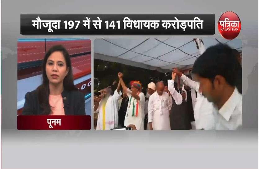 प्रदेश में करोड़पति नेताओं का बोलबाला, मौजूदा 197 में से 141 विधायक करोड़पति, देखें वीडियो