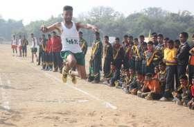 सैनिक स्कूल में वार्षिक खेलकूद प्रतियोगिता का शानदार आगाज