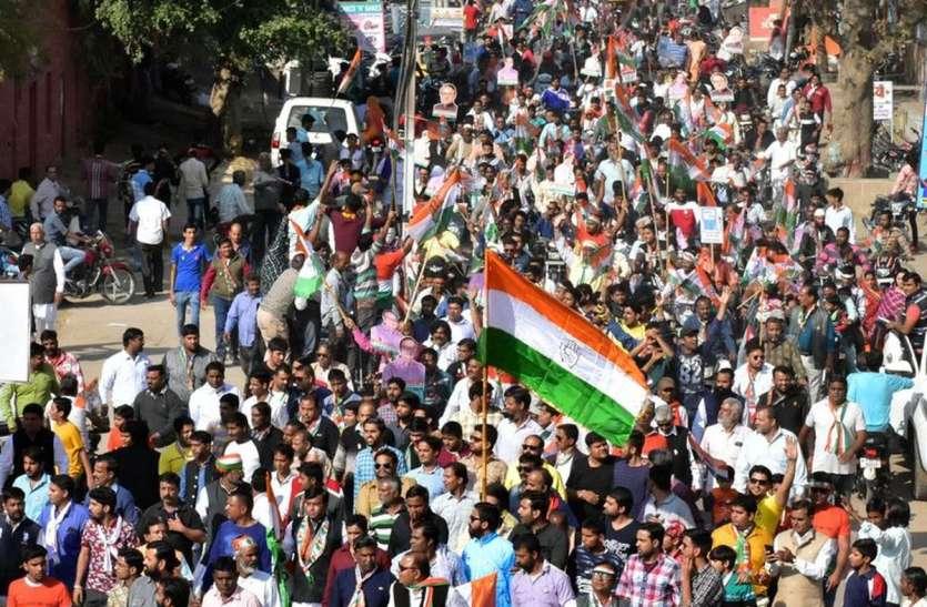 VIDEO : डॉ. कल्ला ने किया जनसम्पर्क, निकाली रैली
