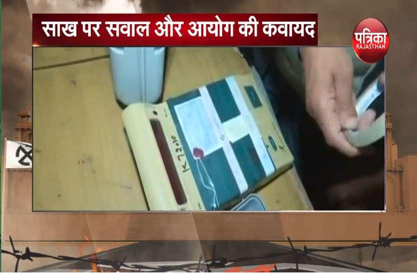 राजस्थान विधानसभा चुनाव से पहले निर्वाचन आयोग की 'साख पर सवाल' बना ईवीएम और आयोग की कवायत जारी, देखे वीडियो