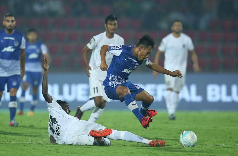 ISL 5 :  बेंगलुरू का अजेय क्रम बरकरार, नार्थईस्ट को 1-1 पर रोका