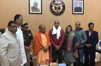 सीएम योगी से मुुलाकात के बाद शहीद सुबोध सिंह के परिवार के लिए हुई बड़ी घोषणाएं, 80 लाख रुपए से ज्यादा की होगी मदद