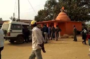 मंदिर परिसर में हत्या, खून से लथपथ मिला शव
