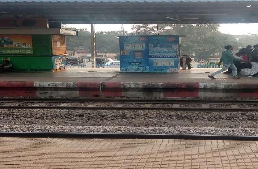 भिलाई पावर हाउस रेलवे स्टेशन में आरओ वॉटर वेडिंग मशीन बंद