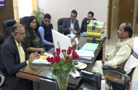 सूखे की स्थिति पर केंद्रीय टीम ने की बैठक, राज्य सरकार ने किया 818 करोड़ की सहायता का आग्रह