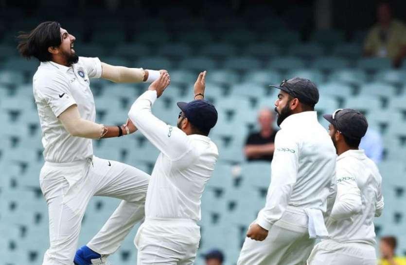 India vs Australia: कंगारू कप्तान को आउट कर इशांत शर्मा ने हासिल किया ये खास मुकाम