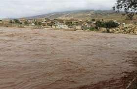 वीडियोः ईरान में भारी से बारिश से बाढ़ जैसे हालात