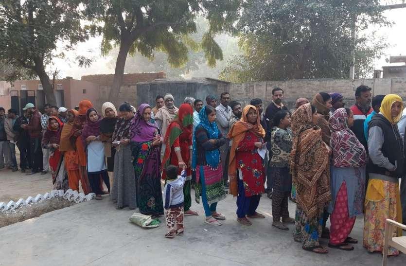 हत्या की गुत्थी नहीं सुलझी तो किया मतदान का बहिष्कार